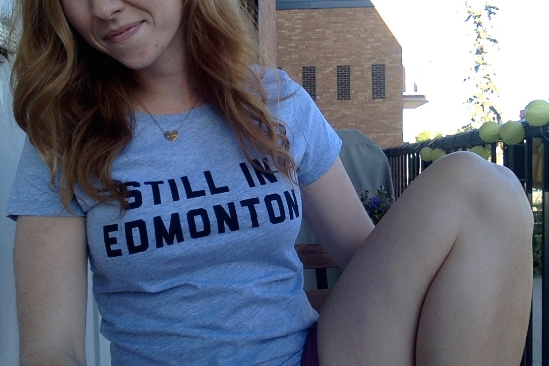 YES, I'M STILL IN EDMONTON